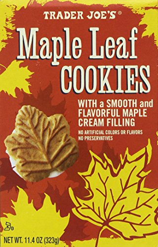 Trader Joes Maple Cookies 11 4oz