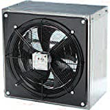Fantech FADE 14-4 WHD FADE14–4 115V with Assembled Housing and Damper Axial Fans For Sale