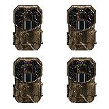 (4) Stealth Cam G45NG No Glo Trail Game Camera (12MP)   STC-G45NG