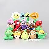 Generic Plants vs Zombies 2 Figures Plush Baby Soft Stuffed Toy Doll 14 pcs Small PVZ 3''-6''