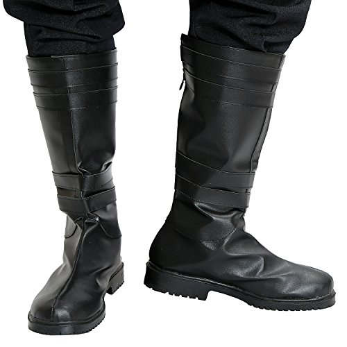 Kylo Ren Boots Deluxe Cosplay Adult PU Shoes Star Force Awakens Wars Custom Made 45 (Custom Made Captain America Costume)