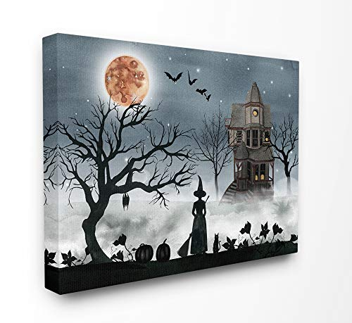The Stupell Home Décor Collection Halloween Witch