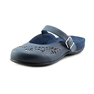 96b55eb0f4f7 Vionic with Orthaheel Technology Rest Midway Womens Mule Mary Jane Navy  Size 5