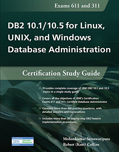 Download DB2 10.1/10.5 for Linux, UNIX, and Windows Database Administration: Certification Study Guide Pdf