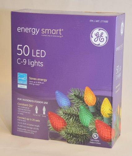 Holiday Home 50 C9 Led Light Set