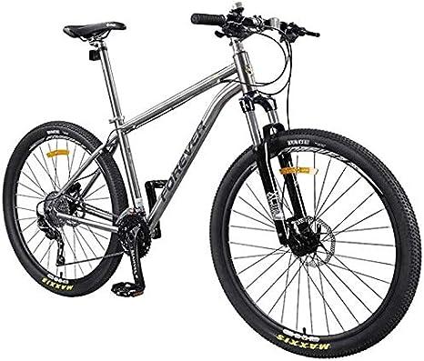 QUETAZHI 30-velocidad de bicicleta de montaña, de 27,5 pulgadas ...