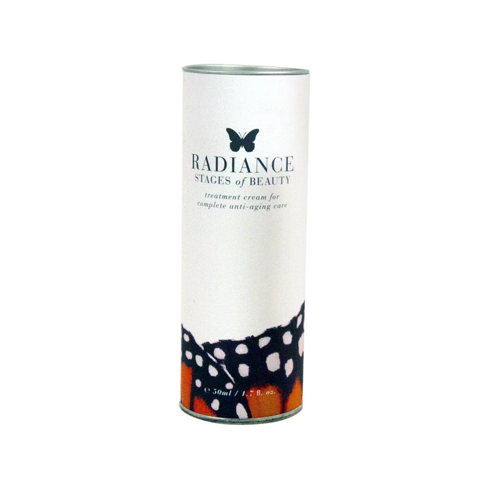 Radiance Treatment Cream, Anti-Aging Facial Moisturizer, Fight Fine Lines & Wrinkles, Hydrate & Protect Skin, Lightweight, Stages of Beauty, 50mL
