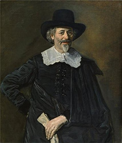 1650 Laser Printer - Perfect Effect Canvas ,the Amazing Art Decorative Prints On Canvas Of Oil Painting 'Frans Hals,Portrait Of A Man,about 1650', 24x28 Inch / 61x71 Cm Is Best For Bedroom Artwork And Home Gallery Art And Gifts