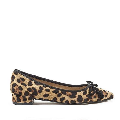 Azarey AZAREY-345A560 Leopardo Sintetico Mujer Estampado 38  Amazon.es   Zapatos y complementos 609be93b3b0d7