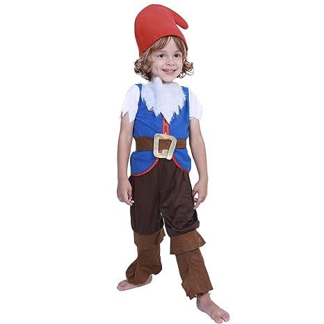 QQWE Niños Navidad Seta Elfo Costume Boy Disfraz Fiesta De ...