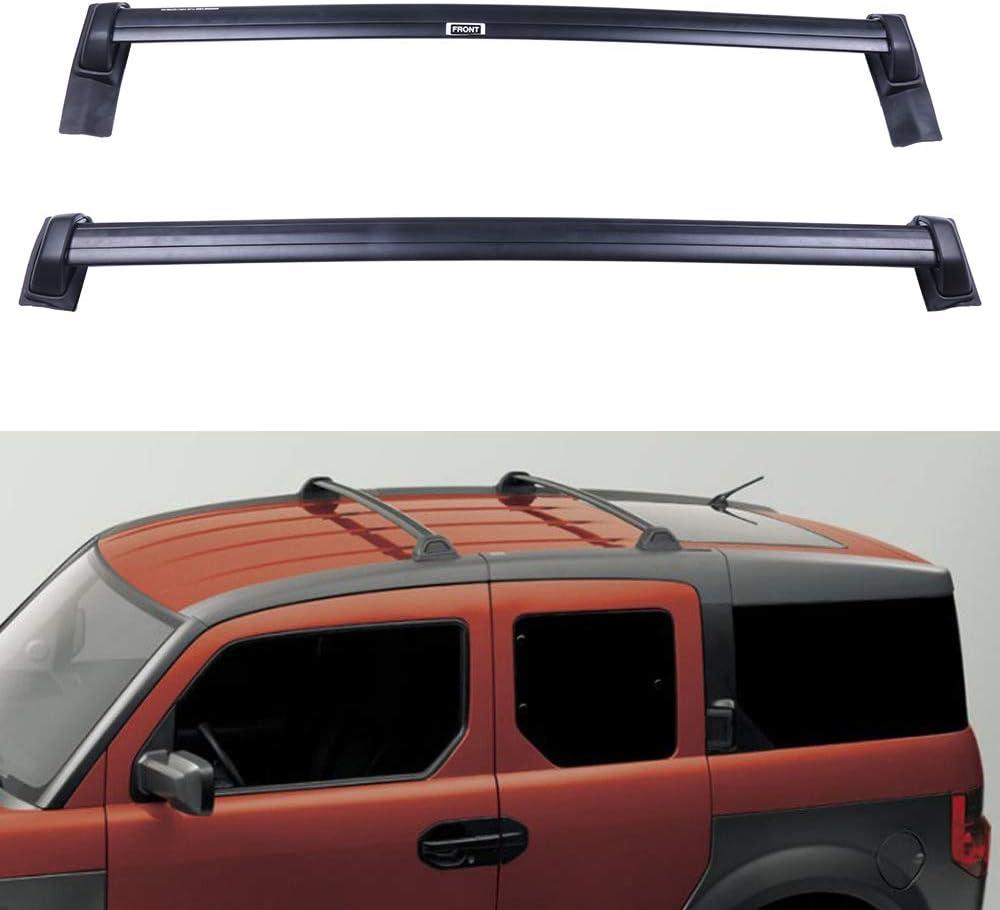 SCITOO fit for Honda CR-V 2007 2008 2009 2010 2011 Aluminum Alloy Roof Top Cross Bar Set Rock Rack Rail