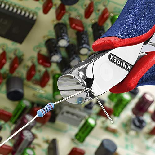 KNIPEX 64 32 120 Pince coupante de devant pour l/électronique avec gaines bi-mati/ère 120 mm