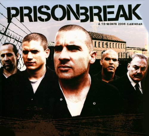Click for larger image of Prison Break 2008 Calendar