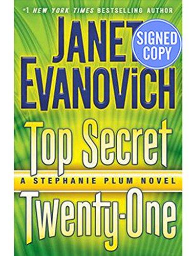 by Janet Evanovich Top Secret Twenty-One A Stephanie Plum Novel - Autographed / Signed Book pdf epub