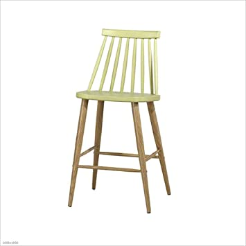 Hcytpl Bar High Stool Cafe Chaise Haute Hauteur 65 Cm Multi