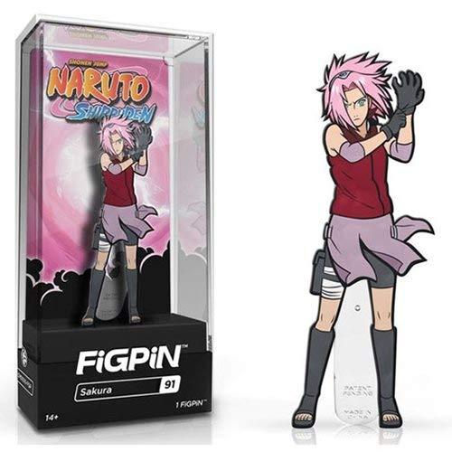 - FiGPiN Naruto Shippuden Sakura Enamel Pin