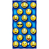 Emoji Cotton Beach Towel