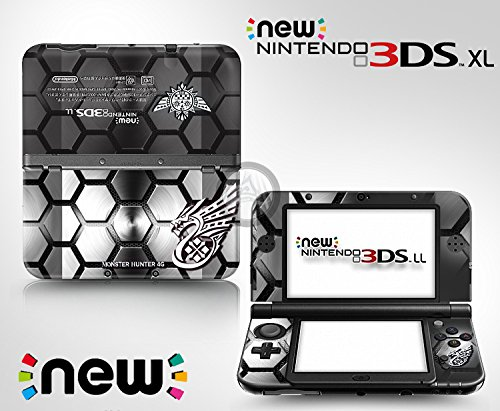 Ci-Yu-Online VINYL SKIN [new 3DS XL] - Monster Hunter 4G #9 Honeycomb - Limited Edition STICKER DECAL COVER for NEW Nintendo 3DS XL / LL Console -