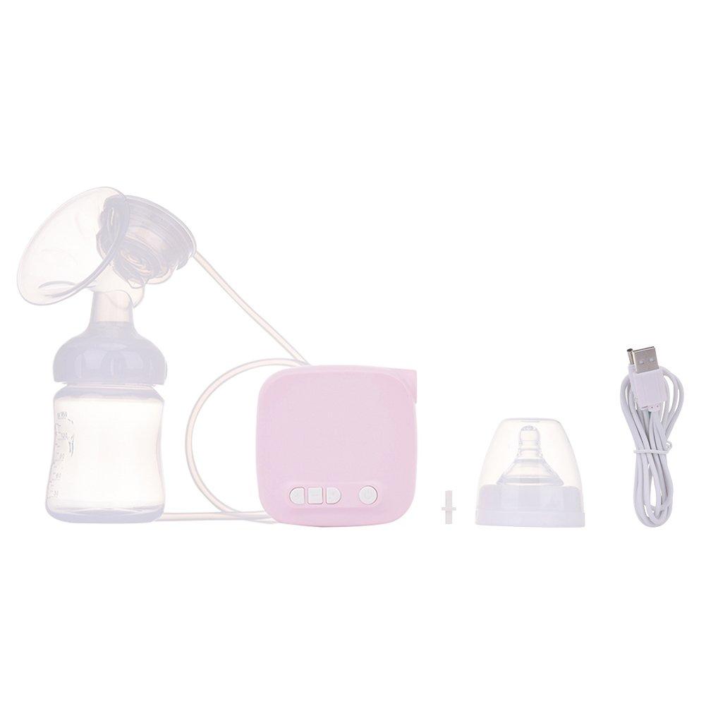 luerme Elektrische Milchpumpe Komfort D/ämpfer Stillen Pumpe mit 3D Acupoint Massage und 9/Saugnapf Stufen verstellbar