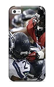 For DanRobertse Iphone Protective Case, High Quality For Iphone 5c Seattleeahawks Skin Case Cover