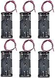 WAYLLSHINE 6PCS 2 x 1.5V AAA Battery Spring Clip