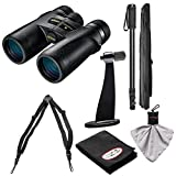 Nikon Monarch 7 8×42 ED ATB Waterproof/Fogproof Binoculars with Case + Harness + Tripod Adapter & Monopod + Kit Review