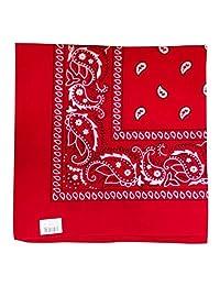 Bandana - Classic Paisley Headscarf -Dozen Pack (12 Piece)