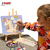 Paint Easel Kids Art Set- 28-Piece Acrylic Painting