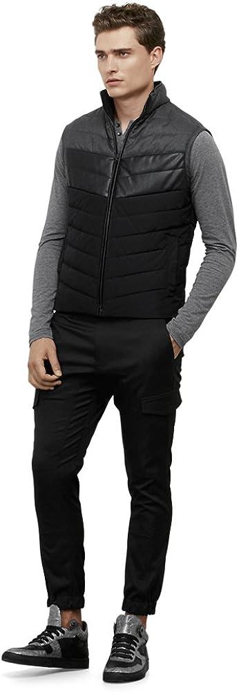 Kenneth Cole REACTION Men's Color Block Puffer Vest