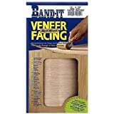 "Band-It 12450 Paper Back Real Wood Veneer Facing, White Birch, 12"" x 48"""