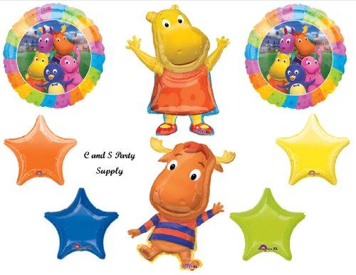 BACKYARDIGANS TASHA & TYRONE Happy Birthday PARTY Balloons Decorations Supplies