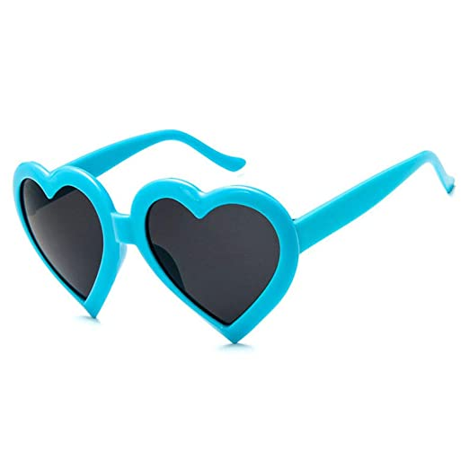 Yangjing-hl Gafas de Sol de Amor Creativas Tendencia de Moda ...