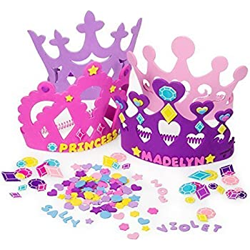 2 set of princess tiara crown craft kits