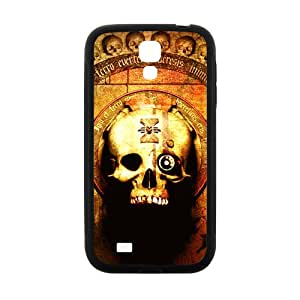 Hope-Store Skull Pattern Custom Protective Hard Phone Cae For Samsung Galaxy S4
