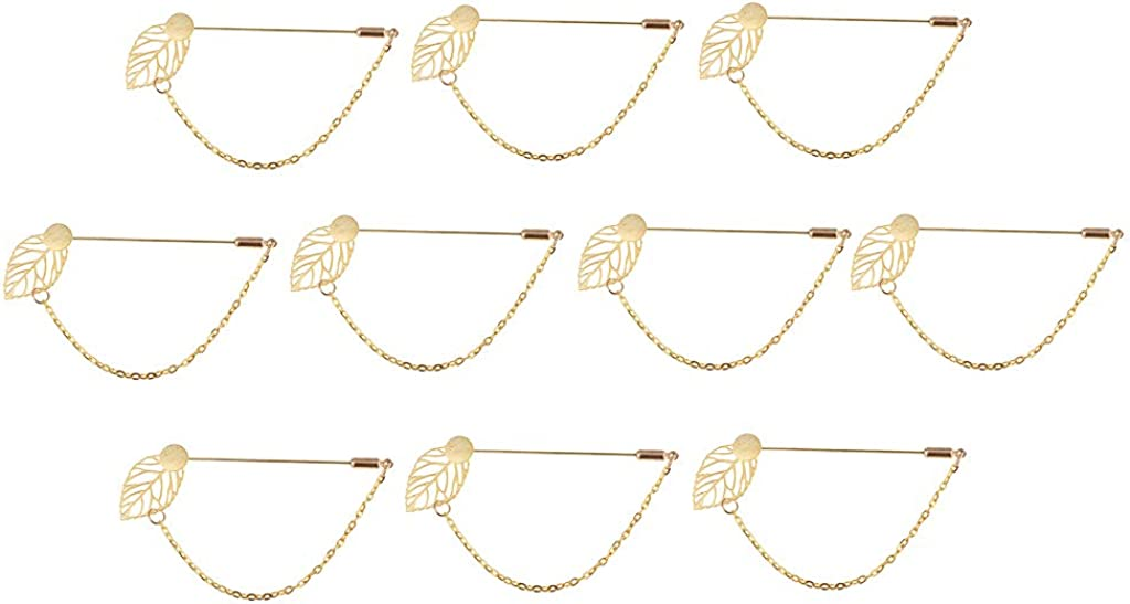 Fityle 10 Pieces//Pack Solid Brass Blank Tray Pad 1cm DIY Boutonniere Collar Pin Crafts Choice Style