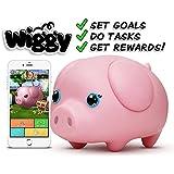 Wiggy Piggy Bank (Pinky): Smart Speaking Piggy Bank and Task Tracker