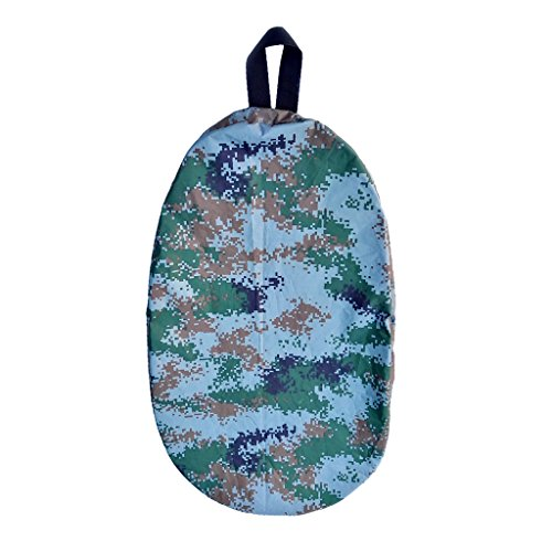 Seals Skirts Cockpit Cover (MonkeyJack Universal Fit kayak Surfboard Cockpit Drape Surfboard Kayak Cockpit Cover Kayak Cockpit Seal- Choose Color Size - Camo Digital, L)