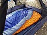 wwww Sleeping Pad - Ultra-Compact for Backpacking, Camping-Orange