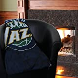 The Northwest Company NBA Utah Jazz Printed Fleece Throw, One Size, Multicolor