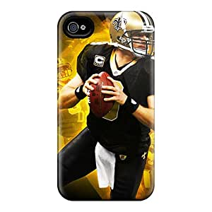 Cute ChrismaWhilten New Orleans Saints Cases Covers For Iphone 6