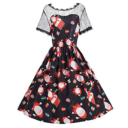 DongDong Ladies Christmas Dress, Christmas Santa Claus Gift
