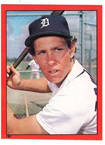 1982 Topps Stickers # 181 NM//MT Baseball Card Alan Trammell