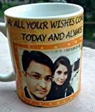 Unbreakable Personalised Personalized Photo mug cup::Personalized mug::photo on mug::personalised gift::Gift for Everyone::Giftroom Premium quality at best price