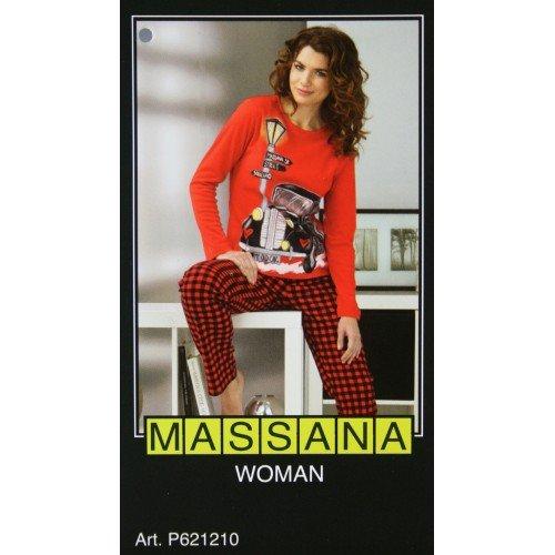 CAL FUSTER - Pijama Massana de Invierno Señora Talla S