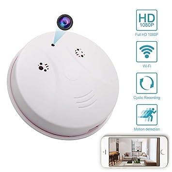 Balscw-J Oculto cámara WiFi HD 1080P Webcam Ronda Vista remota cámara DVR Cámaras Video bebé Monitor niñera Leva Detector de Movimiento cámara cámara de ...