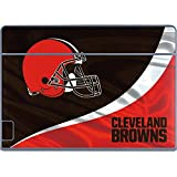 Skinit NFL Cleveland Browns Galaxy Book Keyboard Folio 12in Skin - Cleveland Browns Design - Ultra Thin, Lightweight Vinyl Decal Protection