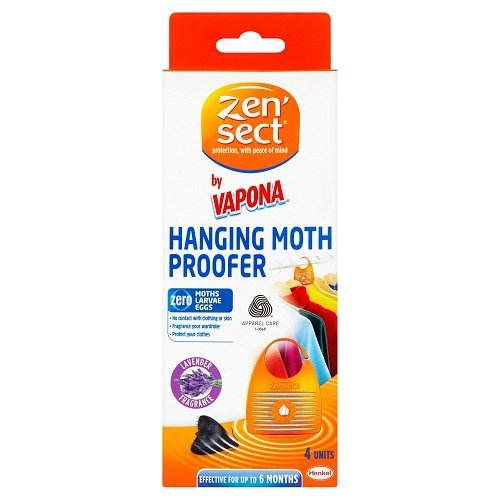 3 x Zensect Moth Hanging Proofer, (4 Units)