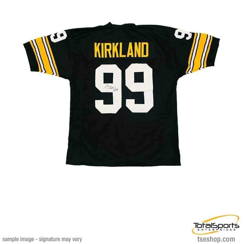 Levon Kirkland Autographed Signed Custom Black 2018 Throwback Football Jersey - Certified Authentic