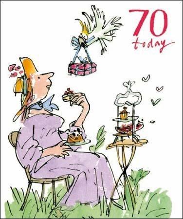 Birthday Card WDM8999 70th