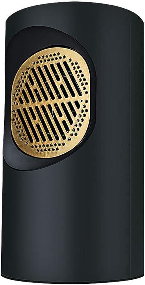 L&L Calentador eléctrico Máquina de calefacción, Calentador eléctrico, frío y Caliente para el hogar Estufa de Asar a la Parrilla ahorradora de energía recalentada pequeña (Color : Negro)